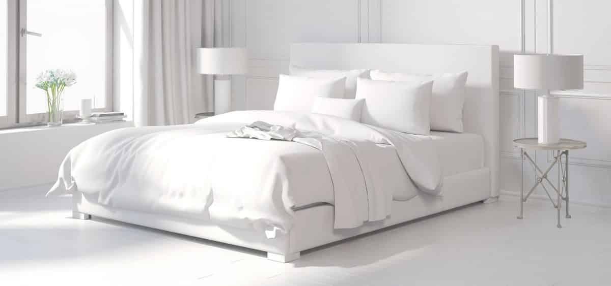 wybór tkaniny na łóżko