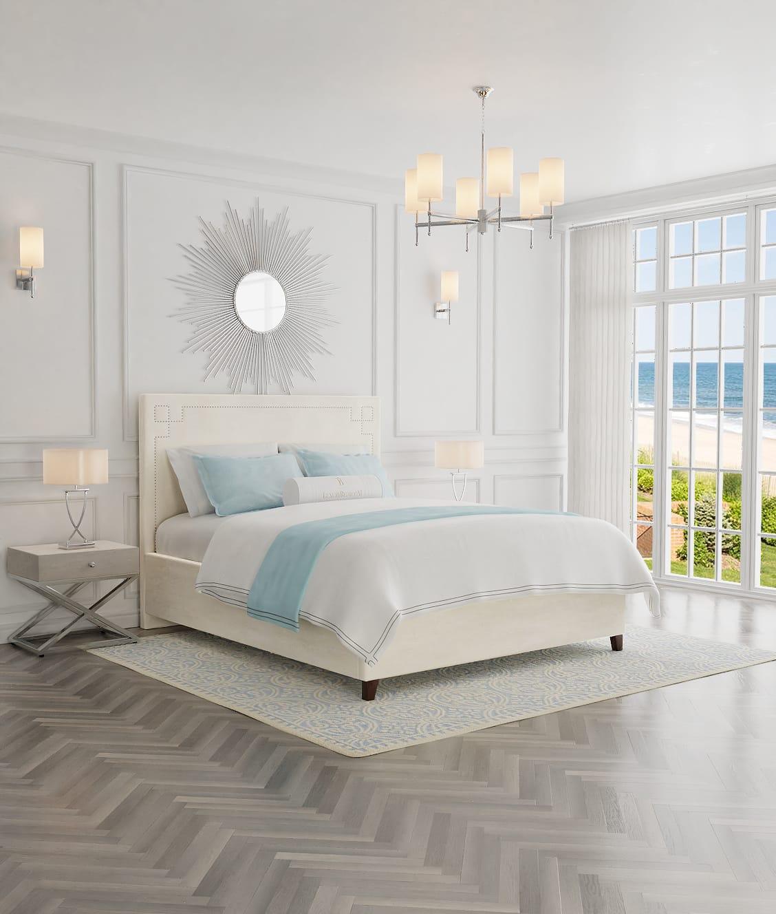 łóżka hotelowe z pojemnikiem na pościel