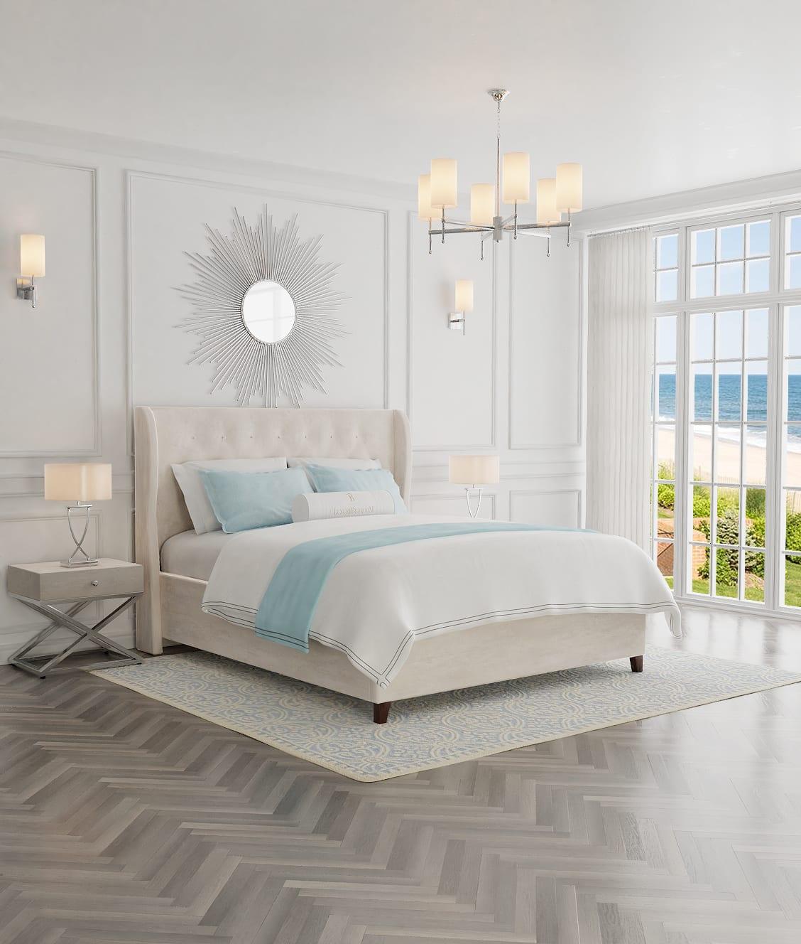 wygodne i eleganckie łóżko