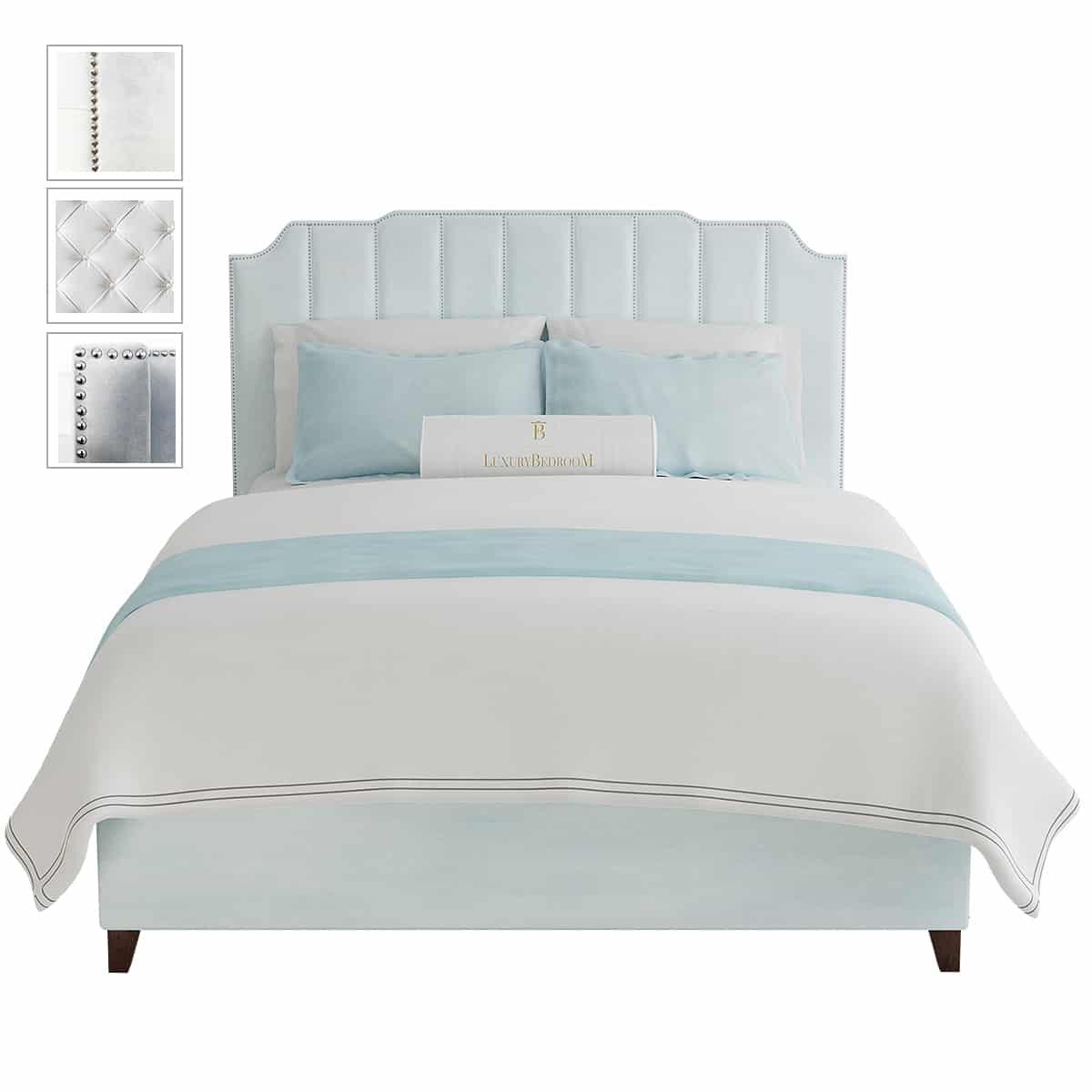 łóżko sypialniane wysokie