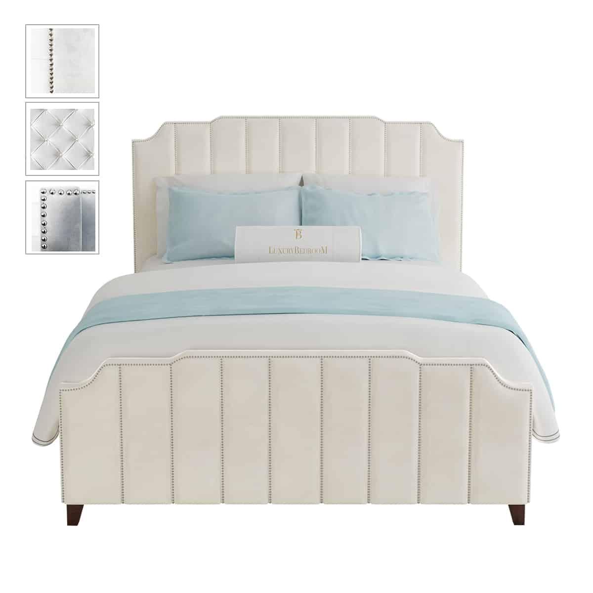 łóżka sypialniane tapicerowane 140x200