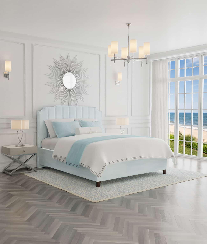 łóżka sypialniane z pojemnikiem i materacem