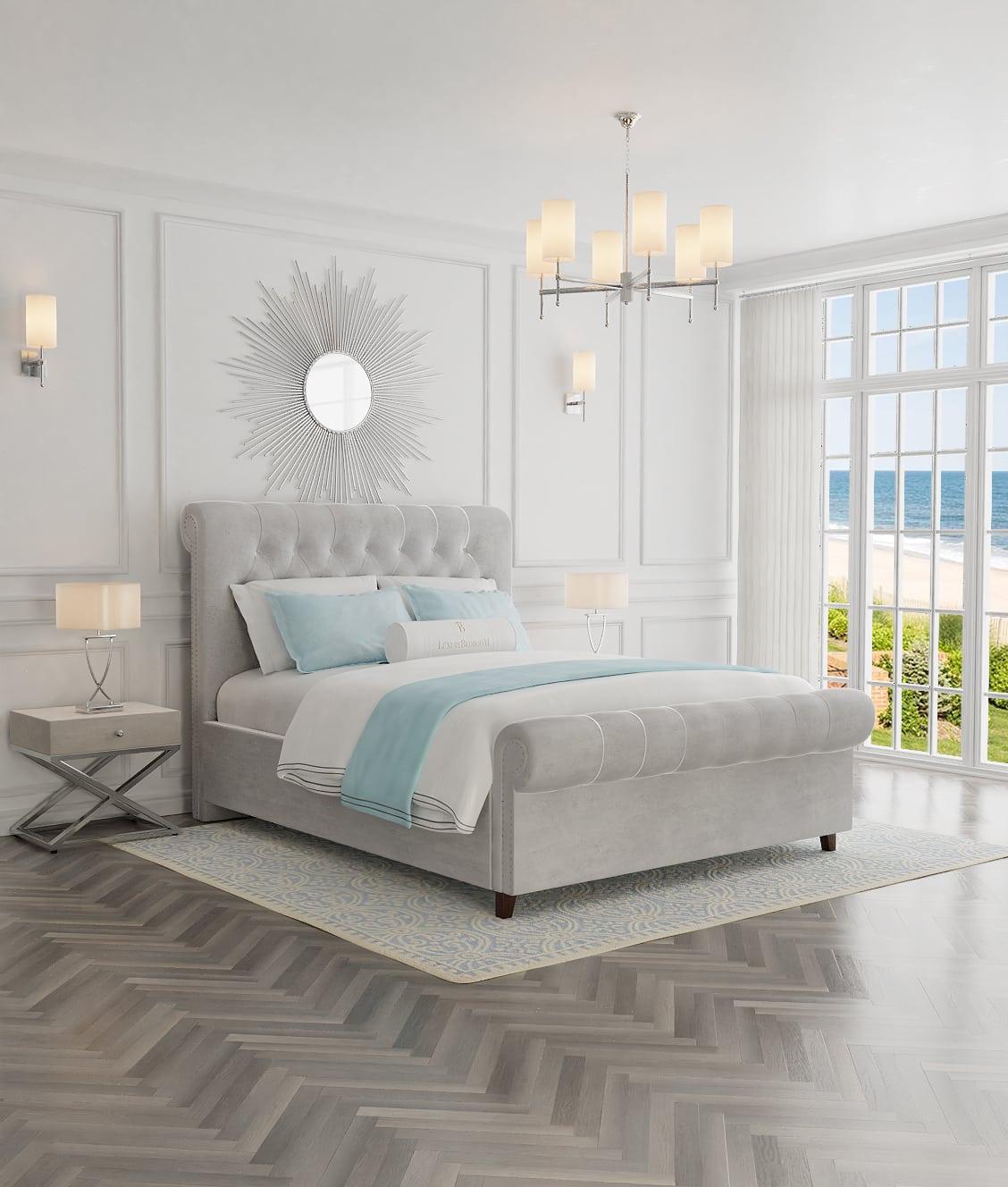 Wygodne łóżka tapicerowane do sypialni