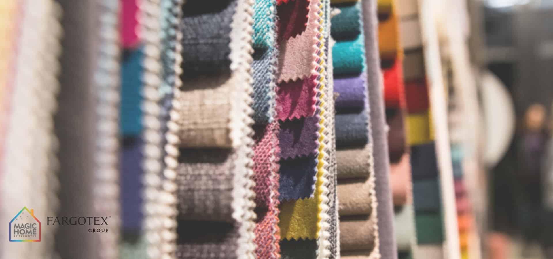 wyselekcjonowane tkaniny
